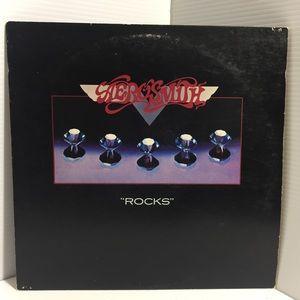 Aerosmith : Rocks - Vinyl Lp Black